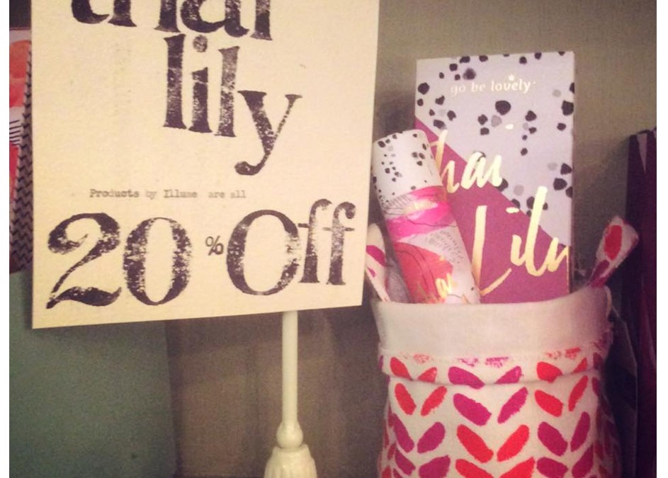 Thai Lily products by Illume are 20% off!