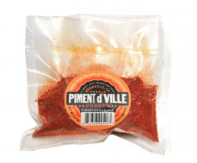 Piment d'Ville - Red Chili Pepper Powder 3 oz Bag - from locals in Boonville, Anderson Valley, in Mendocino County California