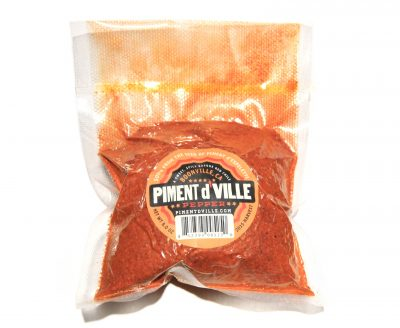 Piment d'Ville - Red Chili Pepper Powder 8 oz Bag - from locals in Boonville, Anderson Valley, in Mendocino County California