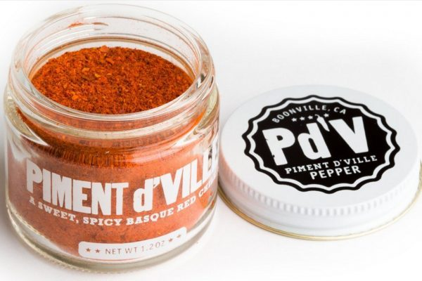 Piment d'Ville - Red Chili Pepper Powder from Signal Ridge grown from locals in Boonville Anderson Valley in Mendocino County California