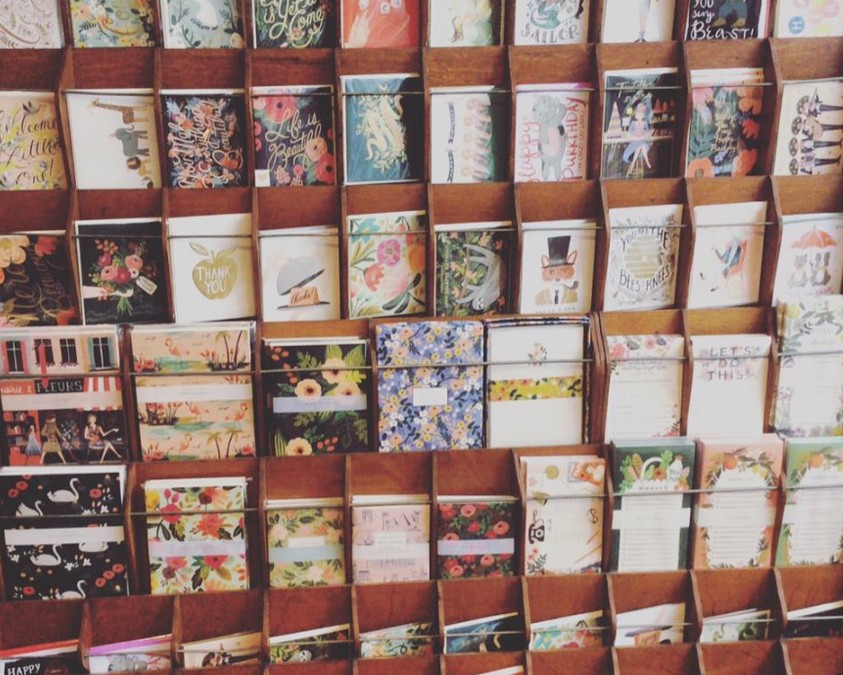 Lots and lots of new cards have just arrived from Rifle Paper Co!