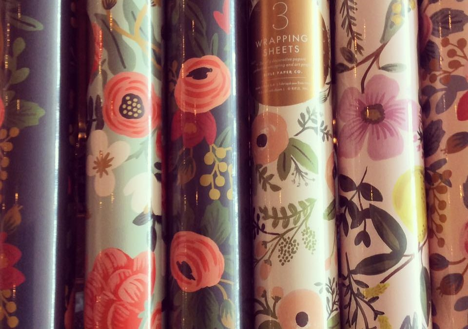 Rifle wrapping paper is back in stock with lots of patterns to choose from!