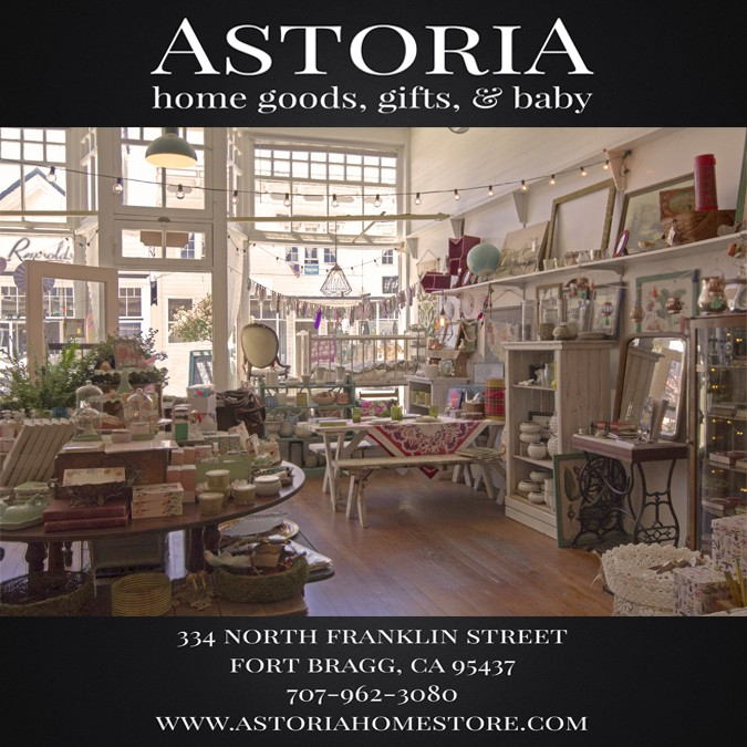Just finished our print ad for the mendocino art center s for Home decor outlet stores online