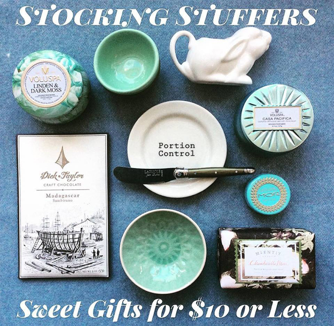 Discover some lovely little gifts  for a coworker, friend, teacher, neighbor, or family member.  Great for stockings with lots of different colors and scents  — all for $10 or less 🎁