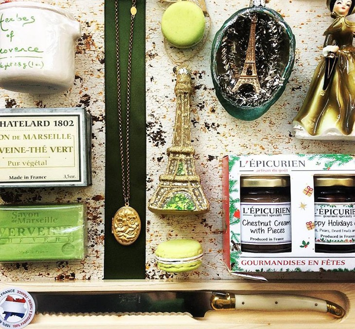 We're kicking off 12 days of fabulous gift ideas at Astoria!  We have expanded our selection over the past year  and offer lots of gifts for everyone on your list.  Our first gift is for the Francophile in your life!  We are happy to help you choose gifts  for the pickiest of people 😅