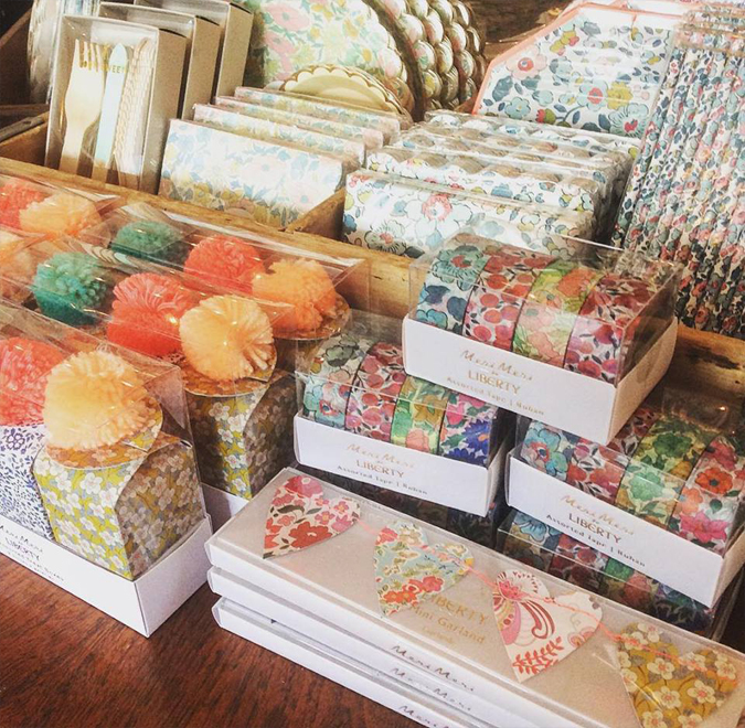 Squeee!  We love Liberty of London  lots of new little goodies in the shop  including some great washi tape  my favorite!