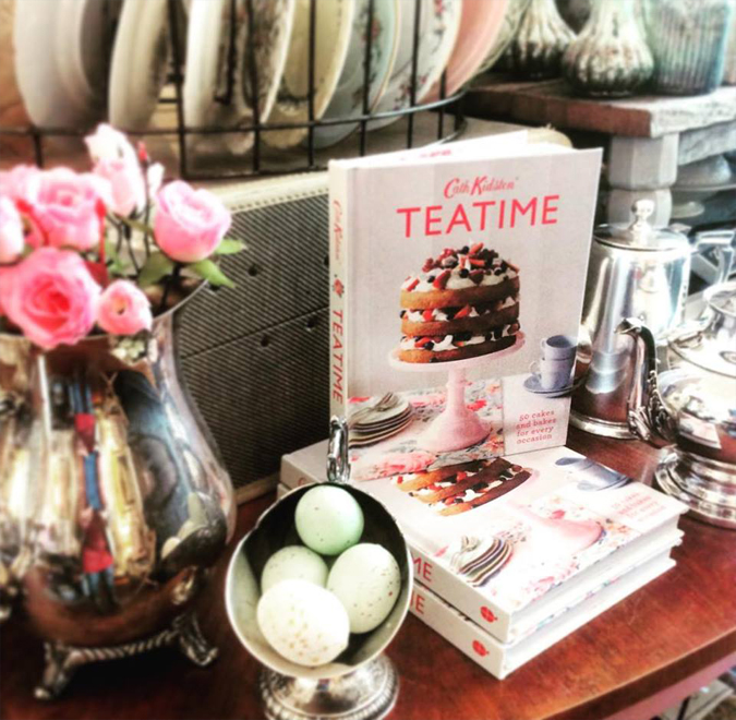 Time for tea!  Find this cookbook and others for some culinary inspiration!