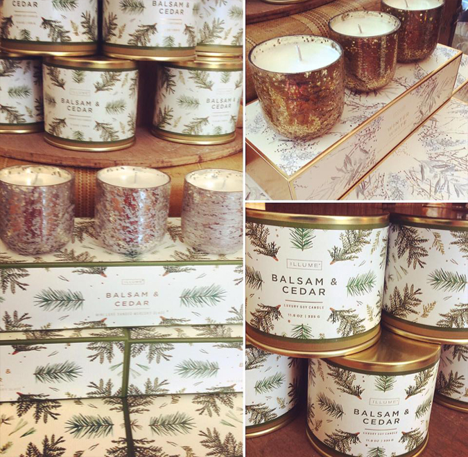 Lots of seasonal candles in stock to warm these chilly nights!  Don't forget First Friday is tonight and we'll have a tasty beverage, of course!  See you later!