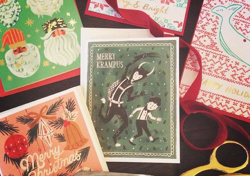Some of our favorite new Christmas cards!