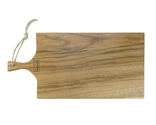 Hand Made in Mendocino Large Oak Hardwood Charcuterie Serving Paddle Platter - Astoria Home Store and Gift Shop - Fort Bragg