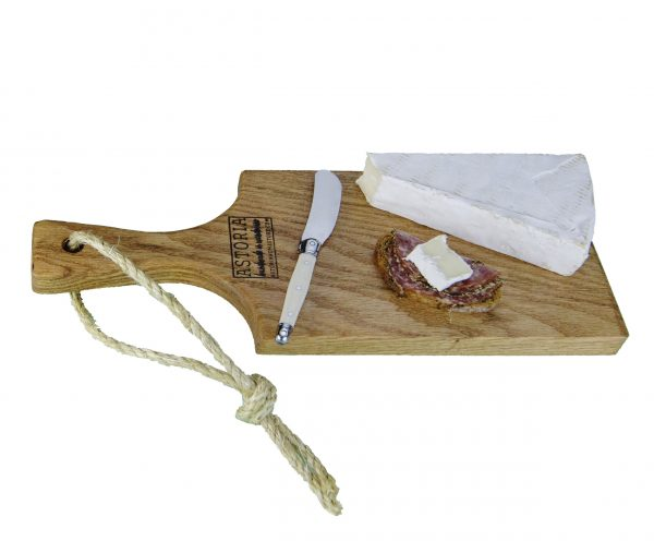 Cheese Board Hand Made in Mendocino Small Oak Hardwood Serving Paddle Platter - Astoria Home Store and Gift Shop - Fort Bragg