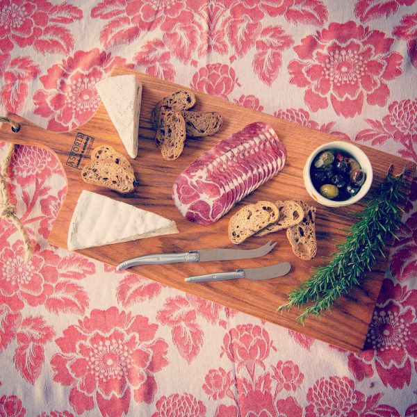 Astoria Home Decor and Gift Shop - Fort Bragg CA, Mendocino County Locally Made Red Oak Charcuterie Serving Platter - Cheese Board