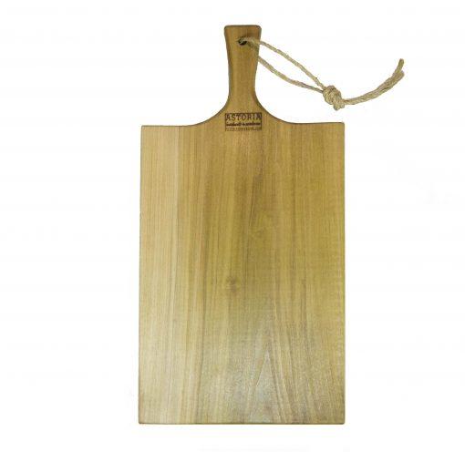 Poplar Large Charcuterie Board - USA MADE IN USA - Handcrafted Handmade in Mendocino Village - Astoria Brand Stamp - Cheese Board Bread Board