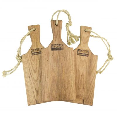 Small Solid Red Oak Cheese Charcuterie Board Paddle - USA MADE IN USA - Handmade in Mendocino Handcrafted Gift Set - Triple Deal Combo Deal
