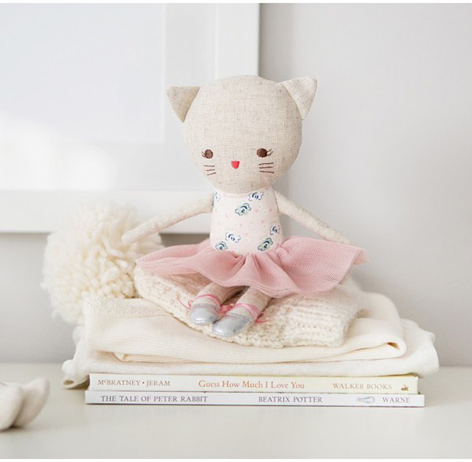 More new products on their way!!!  Including this ridiculously cute little kitty doll!  It also comes in a squeaky rattle toy perfect for a newborn gift 👶