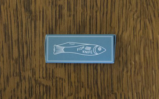 2 inch Juvenile Fish Fingerling Knife - Made in the Czech Republic - Astoria Home Srore and Gift Shop Fort Bragg Mendocino County - Mollyjogger