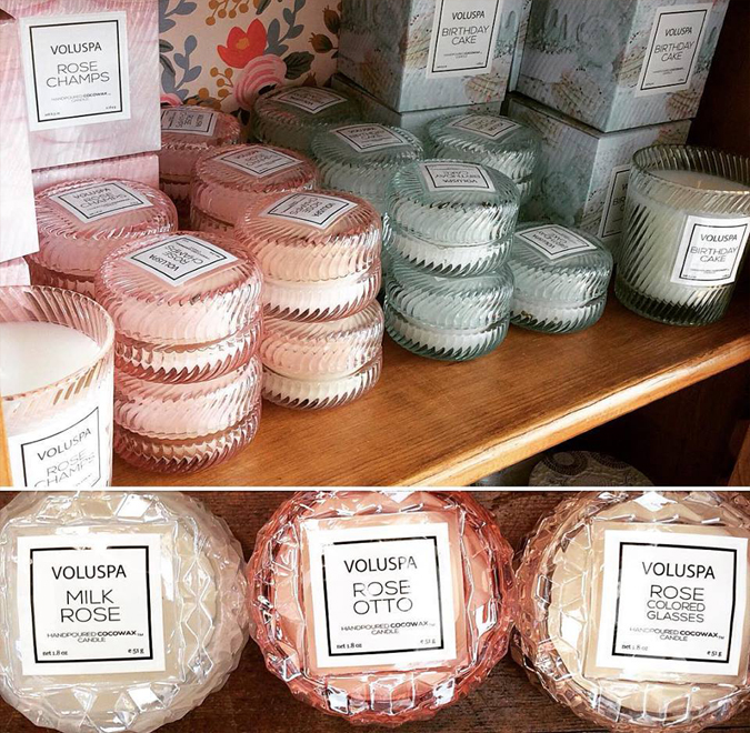 New scents and sizes from Voluspa!