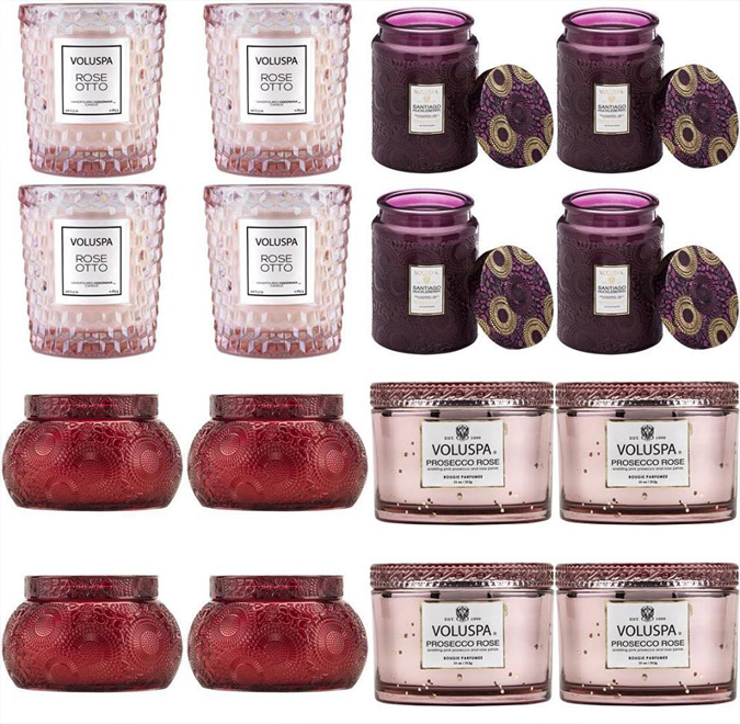 We've drawn a winner for our semiannual candle drawing!  And now to announce the next drawing prize!  Fill up your candle card and be entered to win a free case pack of any Voluspa candle!  They usually come in 4s or 6s — so stock up on your favorites or get some gifts!  Next drawing will be around New Years! Good luck!