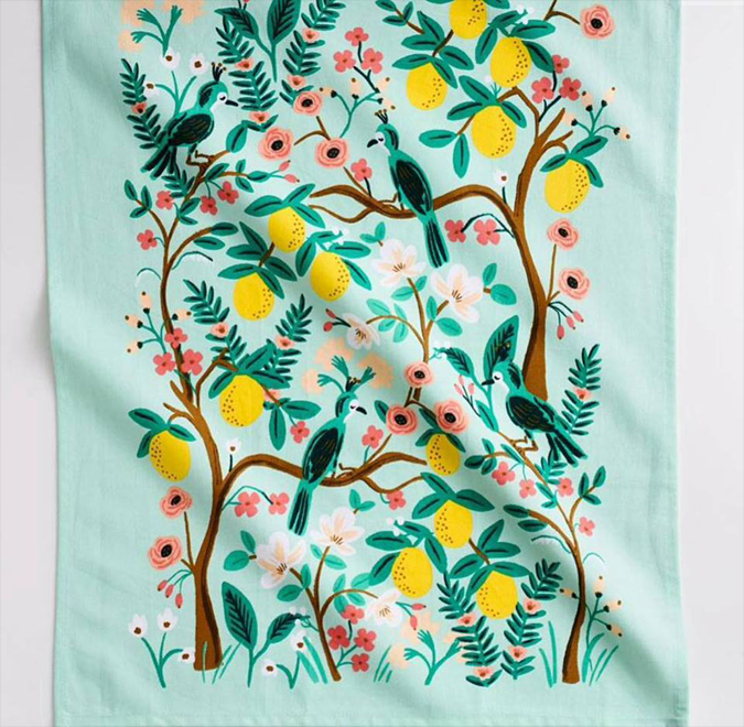 Oh and did we mention  we also have Rifle Paper Co tea towels  and lots of new wrapping paper!  Woohoo!