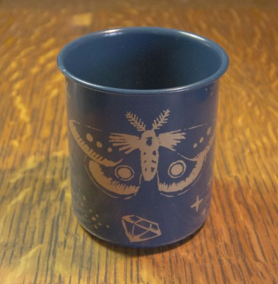 Astoria Home Store Fort Bragg – Mendocino CA - Cup Pencil Pen Holder Danica - Butterfly Cup Pen Holder Pencil Holder