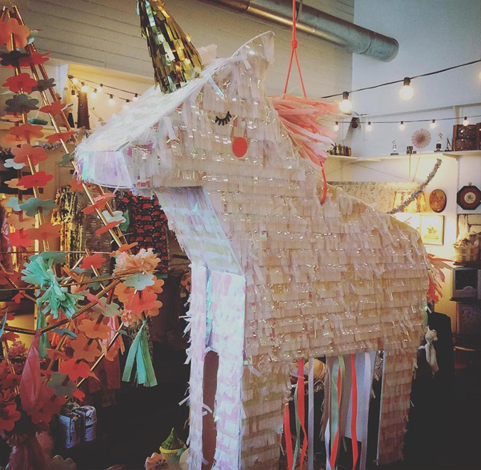 Yay for unicorn piñatas!  Yes, we carry unicorn piñatas!!