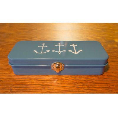 Nautical Themed - Astoria Home Store Fort Bragg – Mendocino CA - Anchor Pencil Pen Case Danica - Product Preview