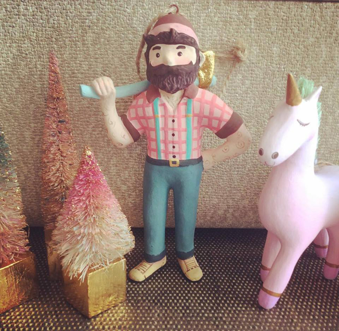 Paul's back! And he brought friends!  We have a bunch of new ornaments just in!  Stop on by or acquire here!