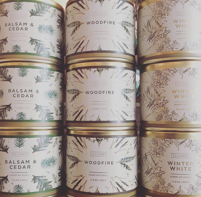 Up your candle game with these holiday favorites!  These and so much more are BOGO half off from 10-2 on Friday!