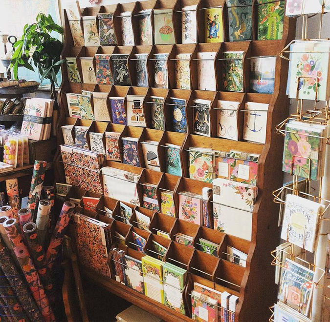 Restocked on many of your favorite cards,  boxed notes, market lists,  and more from Rifle Paper Co!