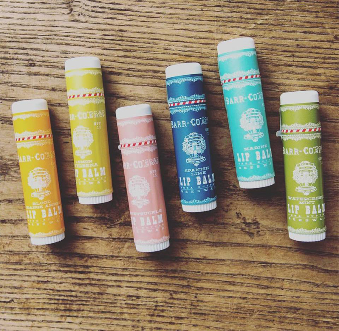 More stocking stuffers!  These are one of our best sellers  and are an SPF filled beeswax giant tasty fabulous lip balm!  Restocked on the best ones!