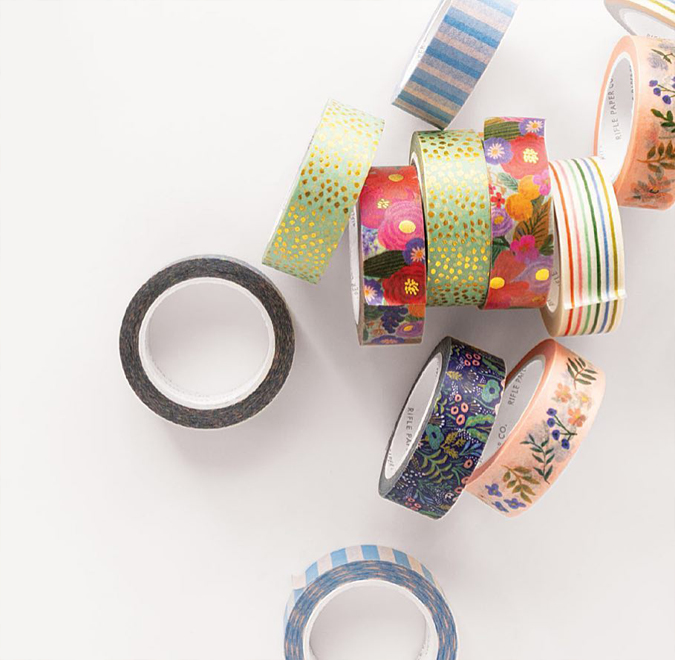 Well,  hello Rifle Paper Co washi tape!! 😍😍😍