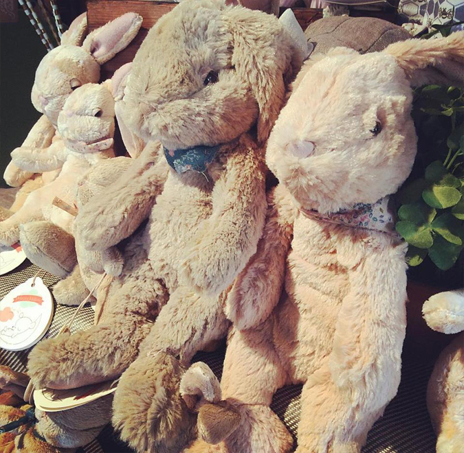 So many sweet, sleepy bunnies for your Easter basket needs