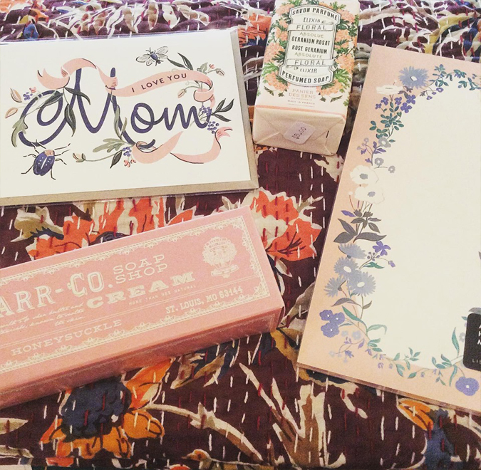 So many great gifts for mom!