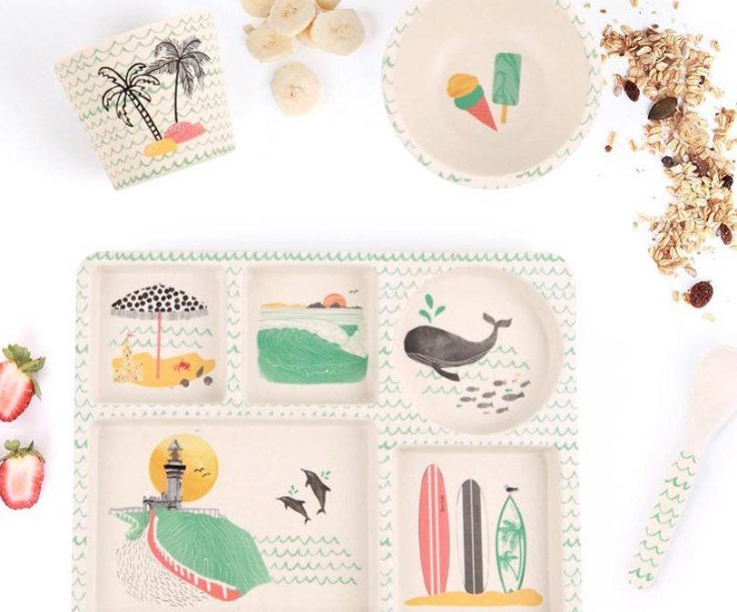 You asked for feeding sets  and we finally found the cutest ones!!   Made of bamboo, dishwasher safe, and biodegradable!!   Make great, practical gifts for little ones.