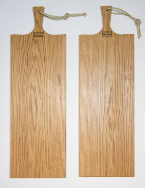 Extra Large Red Oak Charcuterie Board Bread Board Serving Board Handmade in Mendocino California Made in USA Made Double Sale Deal x2
