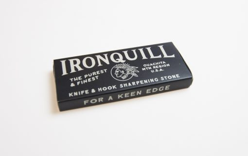 Ironquill Knife and Hook Sharpening Stone Made in Arkansas USA Stone Quarried in the Ouachita Mountains of Central Arkansas