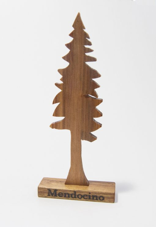 Mendocino Accent Decor Redwwod Tree - Mendocino Stamp - Mendocino Branded - Keepsake - Mendocino Gift