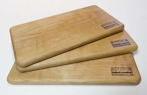 Mendocino Birch Cheese Board Set - Three - Handmade Locally In Mendocino - Gift Shop in Mendocino Village - Solid One Piece of Wood