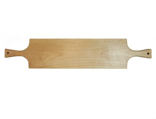 Mendocino Handmade Gift Mendocino Charcuterie Board Double Handled Serving Board Birch Wood Made in USA Made
