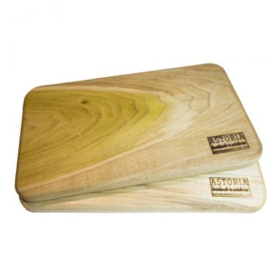 Mendocino Poplar Hardwood Cheese Board Set - Pare - Two - Handmade Locally In Mendocino - Gift Shop in Mendocino Village - Double Sale Deal - 1st Pic
