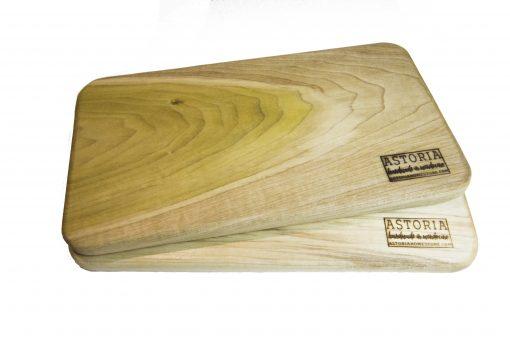 Mendocino Poplar Hardwood Cheese Board Set - Pare - Two - Handmade Locally In Mendocino - Gift Shop in Mendocino Village - Double Sale Deal