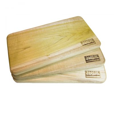 Mendocino Poplar Hardwood Cheese Board Set - Three - Handmade Locally In Mendocino - Gift Shop in Mendocino Village - v1