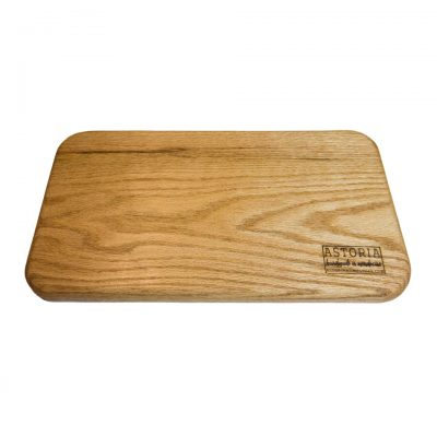 Mendocino Red Oak Cheese Board - Handmade Locally In Mendocino - Gift Shop in Mendocino Village - Face Pic v1