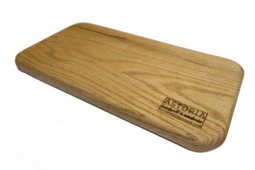 Mendocino Red Oak Hardwood Cheese Board - Handmade Locally In Mendocino - Gift Shop in Mendocino Village - Pic 2-2