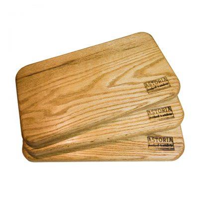 Mendocino Red Oak Hardwood Cheese Board Set - Three - Handmade Locally In Mendocino - Gift Shop in Mendocino Village - Triple Deal Sale v1