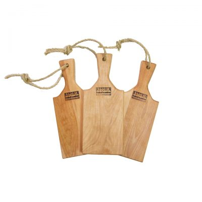 USA MADE IN USA Handcrafted in Mendocino Birch Charcuterie Paddle Small - Gift Shopping Mendocino Village - 3 Combo Deal Sale - Product Face Picture
