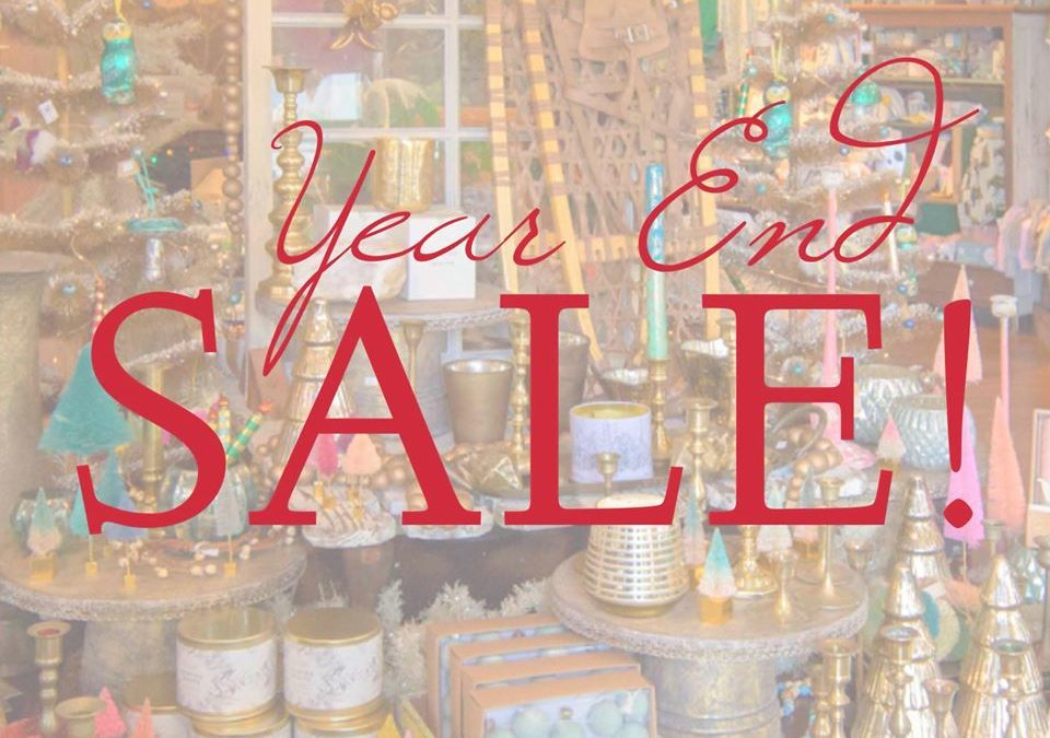 Starting tomorrow,  enjoy discounts on all holiday decor, stationery, and candles!!  For those of you that love your holiday candles all year  — this is the time to stock up!! Sale includes items only at our Gift Shop,  Sale is for December 27th through January 7th