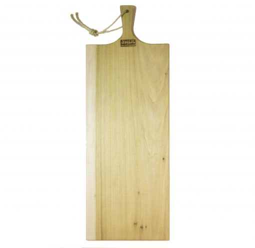 Extra Large Poplar Single Handled Charcuterie Board - USA MADE IN USA - Handmade Handcrafted in Mendocino Village Gift Shop