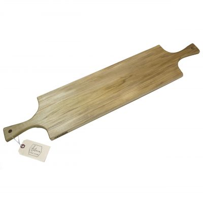 Large Poplar Hardwood Double Handled Charcuterie Serving Board - USA MADE IN USA - Locally made in Mendocino Village - Locally Handmade Handcrafted in Mendocino 1