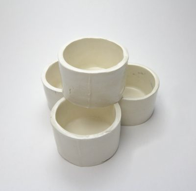 Medium Ramekin Set of Four - Handcrafted in Mendocino Handmade in USA MADE - Charcuterie Food Serving - Set of Four Ramekins 3 in Inch Diameter 1 and seven eighths inches tall